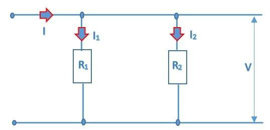 current divider circuit diagram