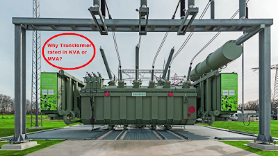 Why transformer rated in KVA, Not in KW?