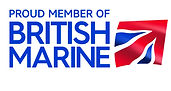 Proud member of British Marine cmyk eps