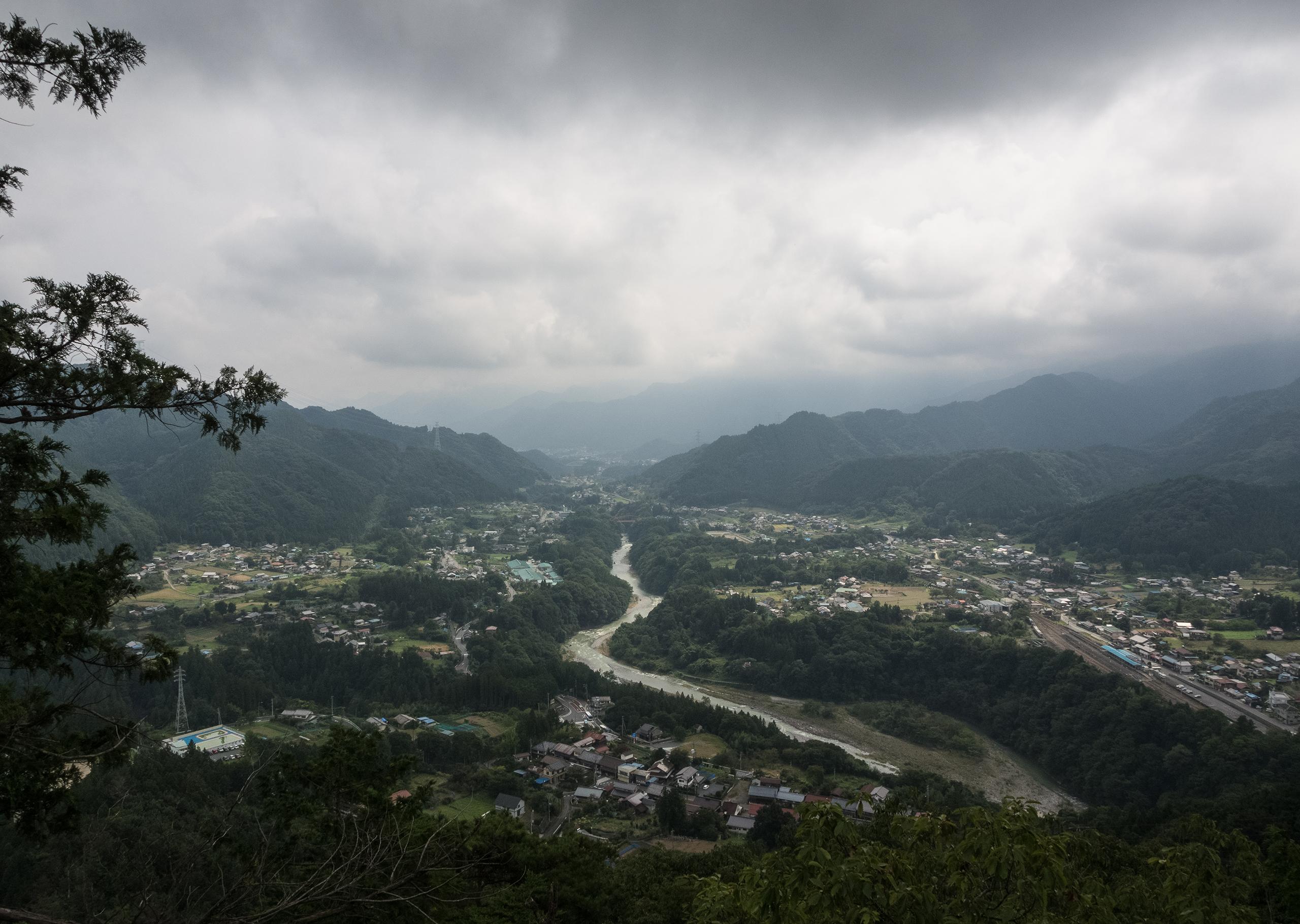 秩父御岳山からの眺め