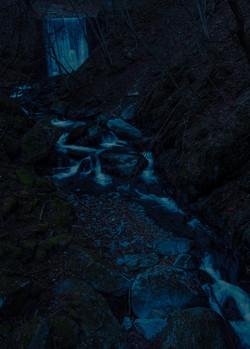 狼との遭遇体験のあった場所