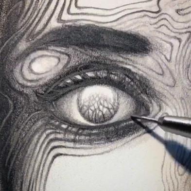 Detail of Overwhelmed by Light