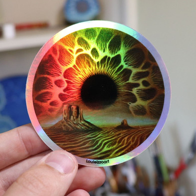 Desert  Skyris Sticker