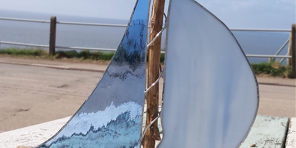 Stained Glass and Driftwood Boats (2)