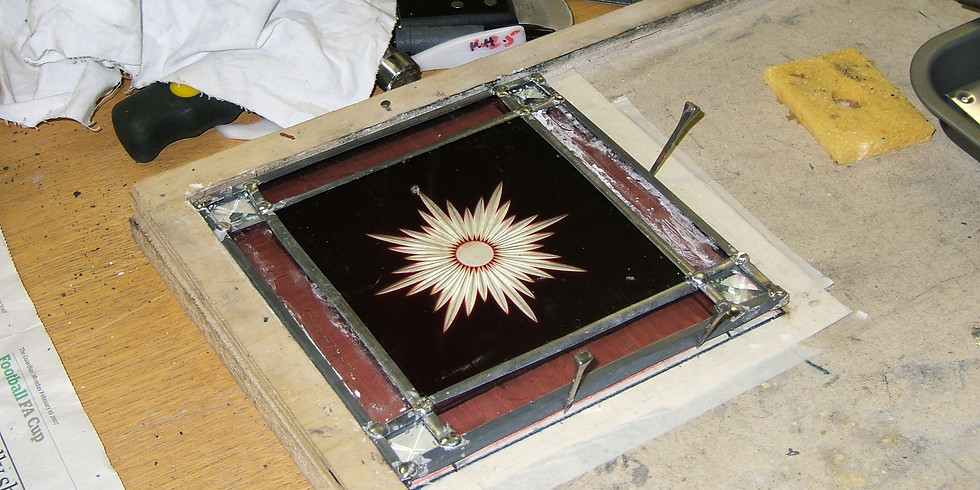 Traditional leaded panel