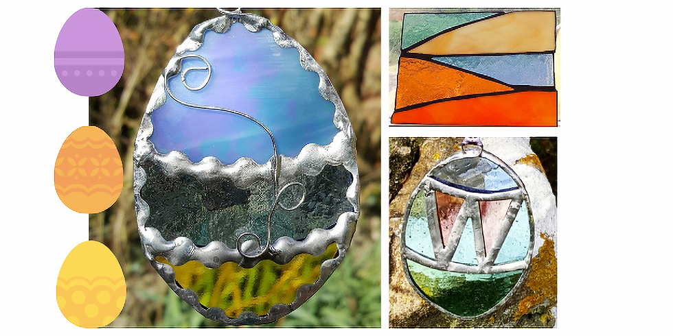 Easter Eggs and Land/Seascape Day  or Half Day Workshop