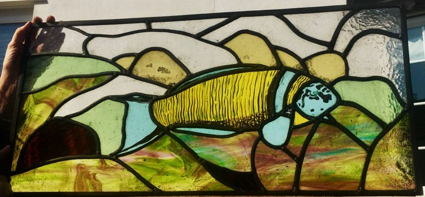 Commissioned Fish panel