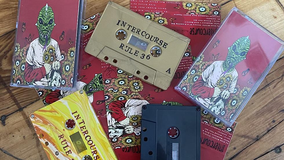 """Intercourse """"Rule 36"""" Cassette Tape"""