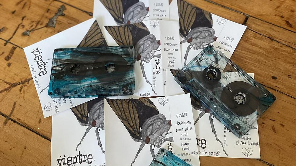 "Vientre ""Estado De Imago"" Cassette Tape"