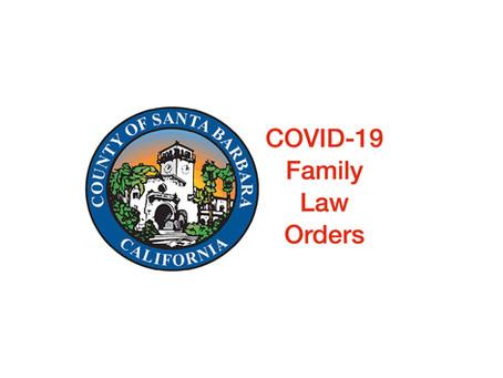 Child Visitation Rights During Shelter at Home in Santa Barbara County