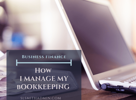 Coming Up: How I Manage My Bookkeeping