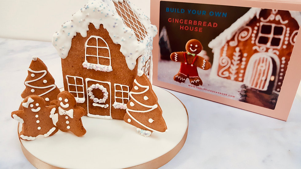 Build Your Own Gingerbread House Kit
