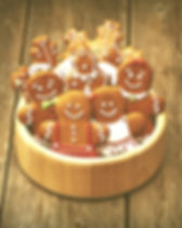 Christmas homemade gingerbread cookies o