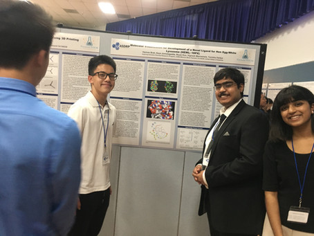 Research Students Present at Fremont Youth STEM Research Symposium & Expo
