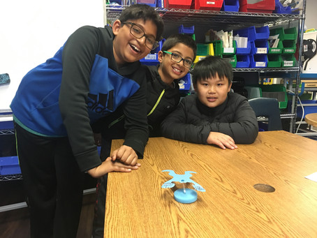 MAKERSPACE- Gravity Defying Frog (3rd-4th Grade)