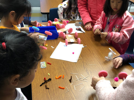 MAKERSPACE- Car on a Roll (K-2nd Grade)