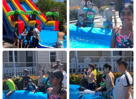 Fun water day!
