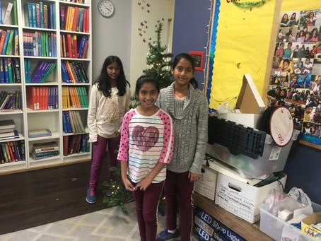 Middle Schoolers Deck the Halls