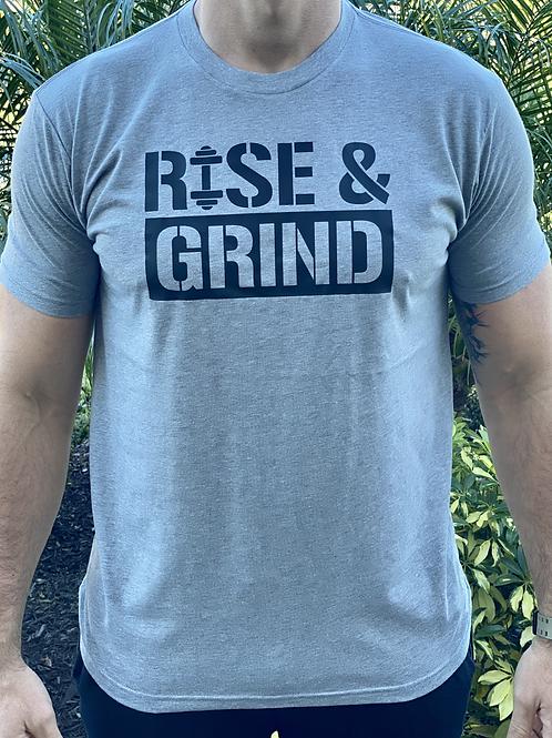 Men's Crew T-Shirt - Rise & Grind