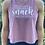 Thumbnail: Women's Crop Racerback Tank - Snack