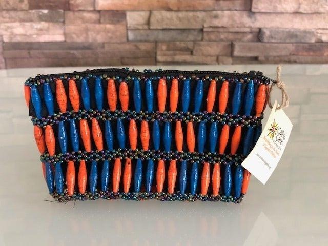CTCU Paper Beaded purse