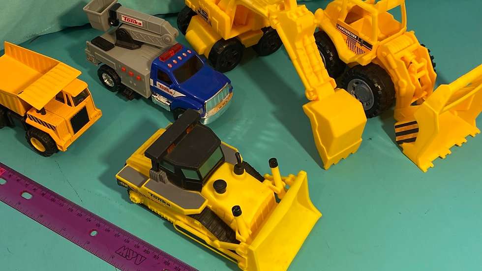 Construction vehicles, 5