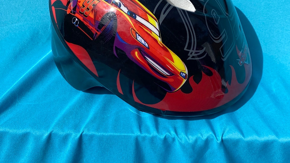 Lightning McQueen toddler bike helmet head size 48 inch to 52 inch