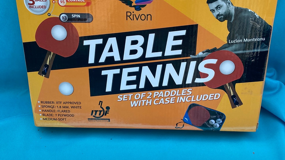 Ping pong game new in the box