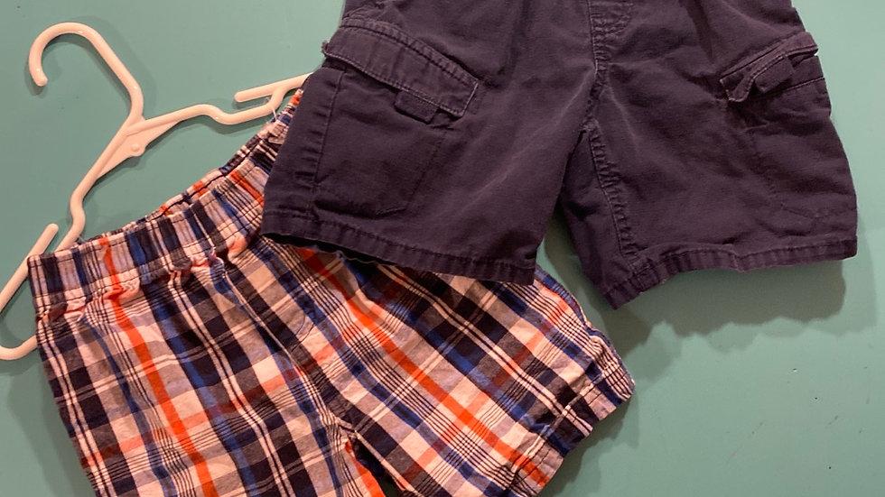 Size 3T, 2 Shorts
