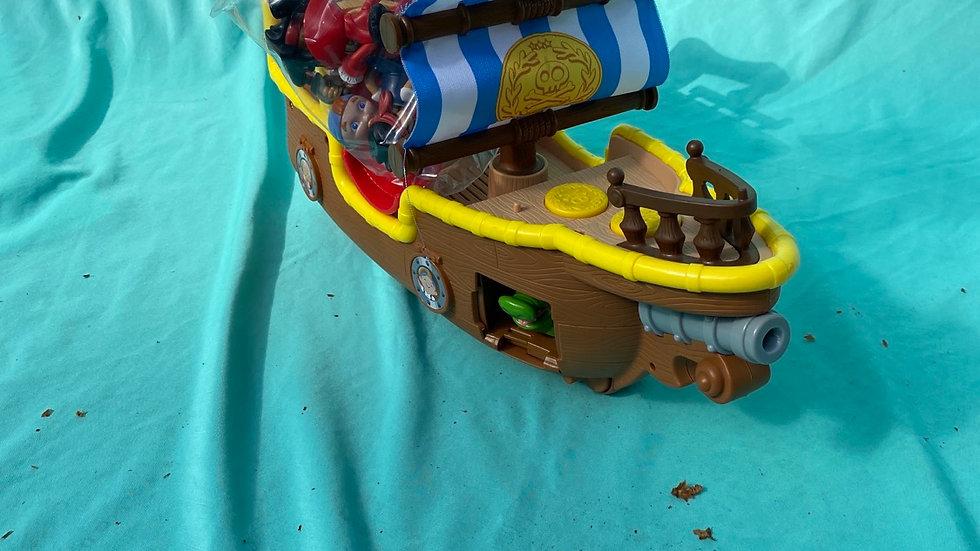 Jake pirate ship