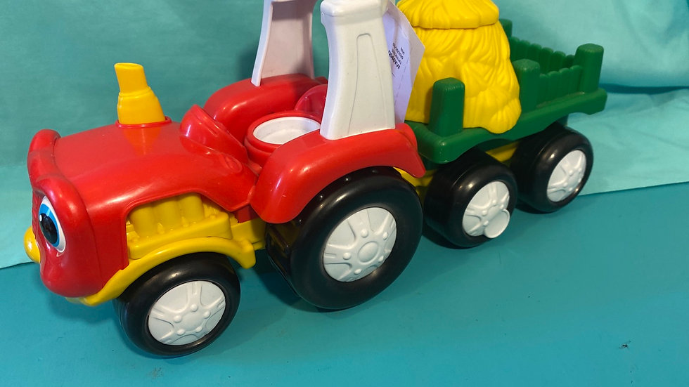 Little People hay tractor