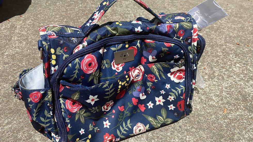 Ju Ju Be diaper bag with Backpack straps