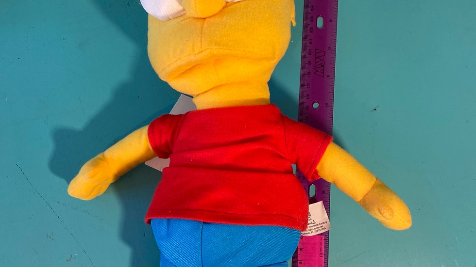 Bart Simpson plush