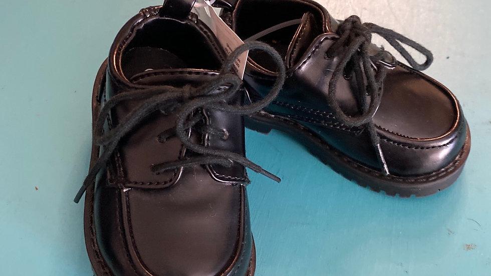 Little kid size 3 black dress up shoes