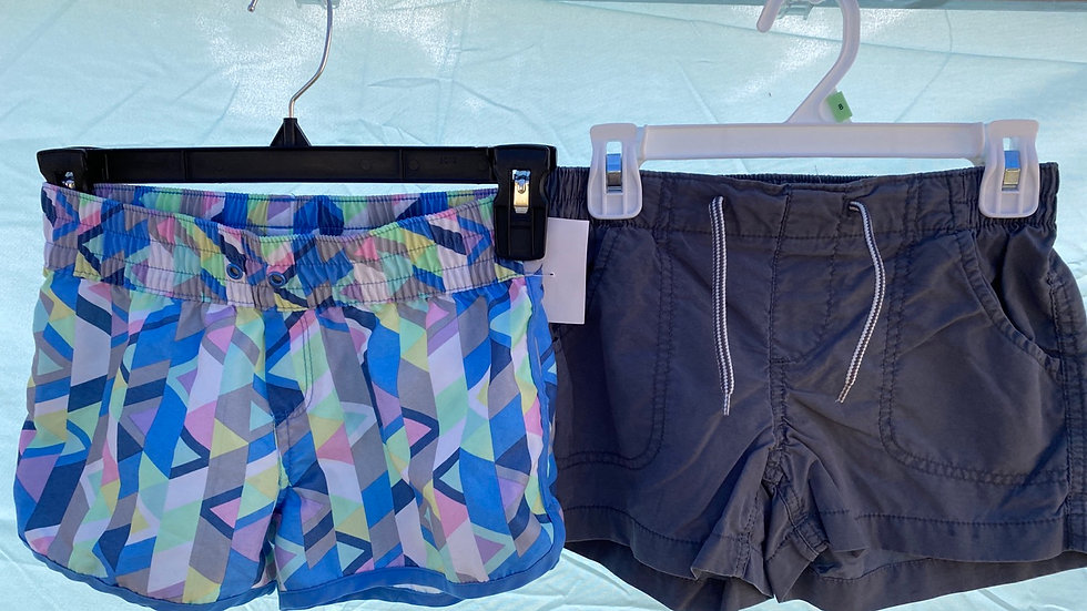 Size 8, two pair Old Navy shorts