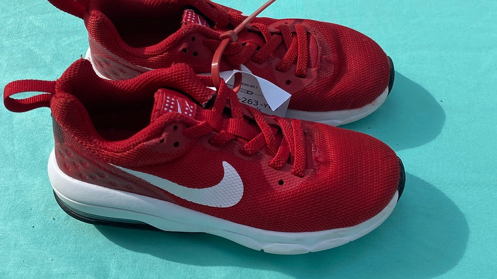 Little kid size 11, red Nike
