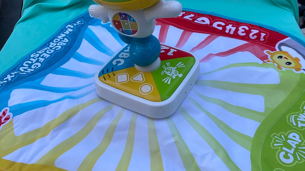 Fisher price rite beats learning lights dance mat