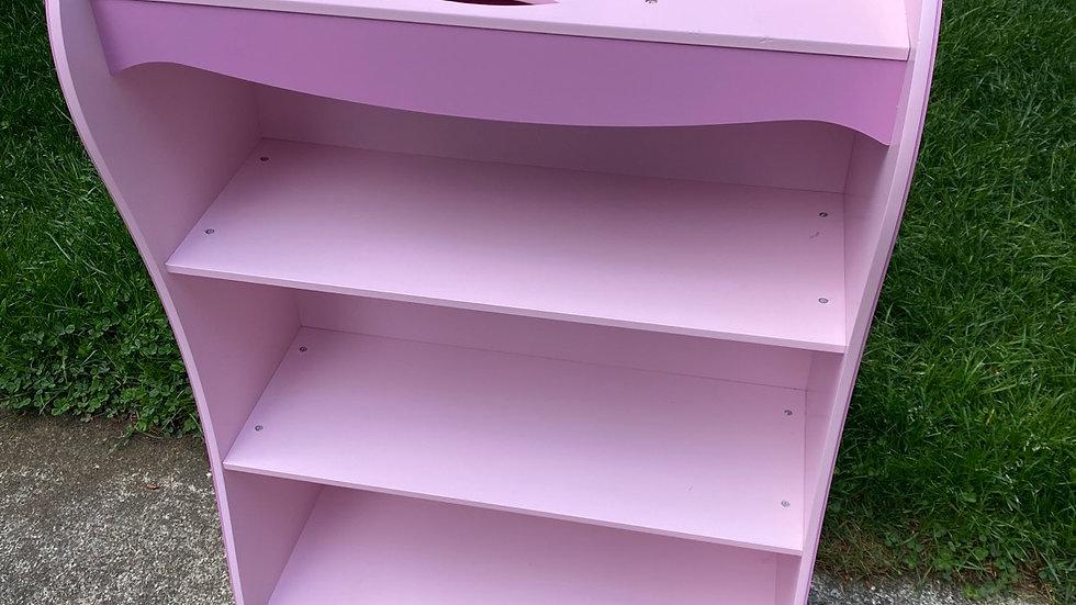 Princess bookshelf, kidkraft (3.5ft, anti-tip kit included)