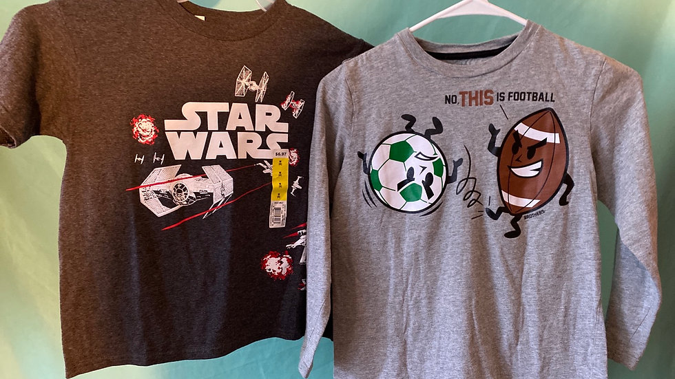 2 Shirts, 8