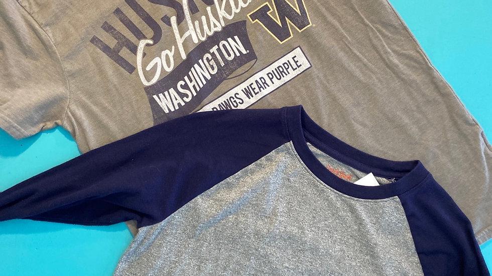 Size 14, 2 shirts