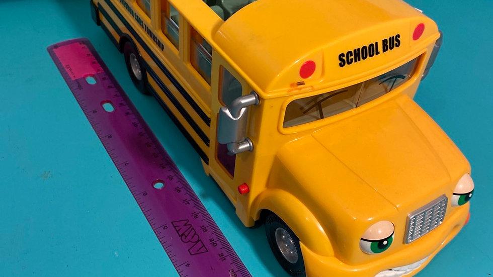 School bus, chevron cars township