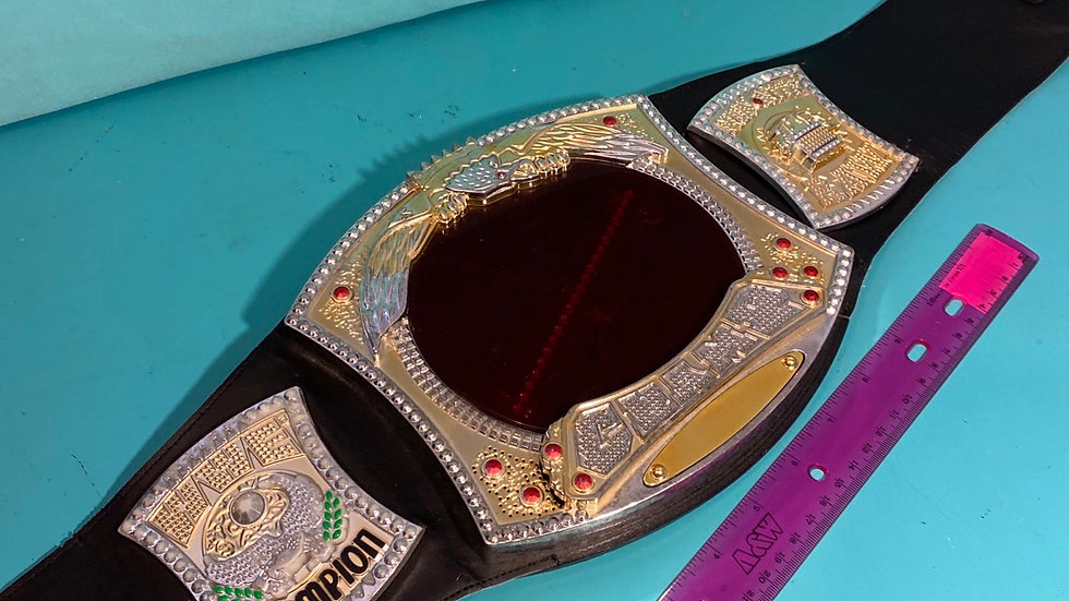 Wrestling belt, makes noise