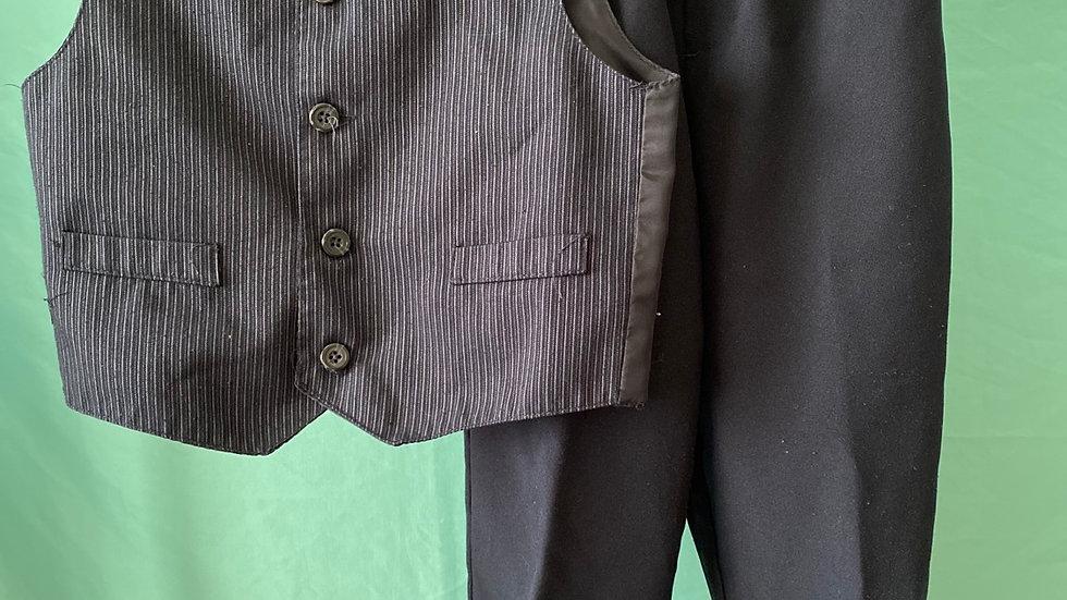 Size 6 Navy Slacks & Vest