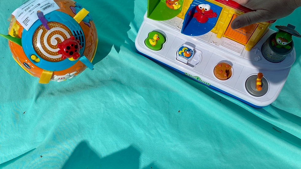 Infant toys 2pcs