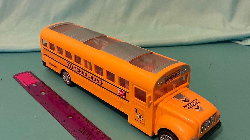 School bus, makes noise