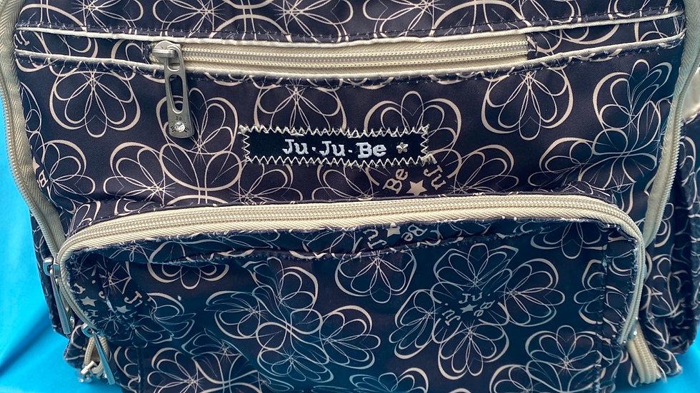 Ju-ju-be brown tan diaper bag
