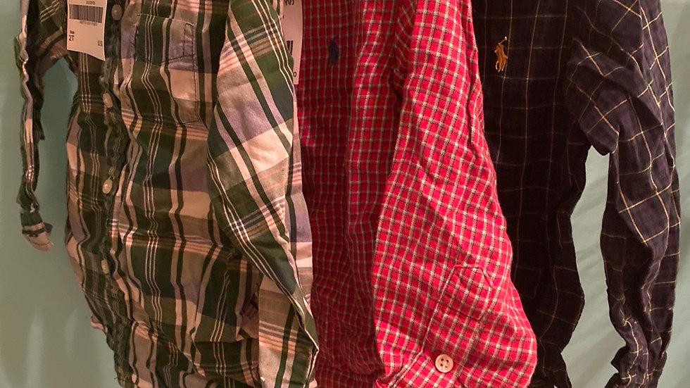 Size 2T, 3 Shirts