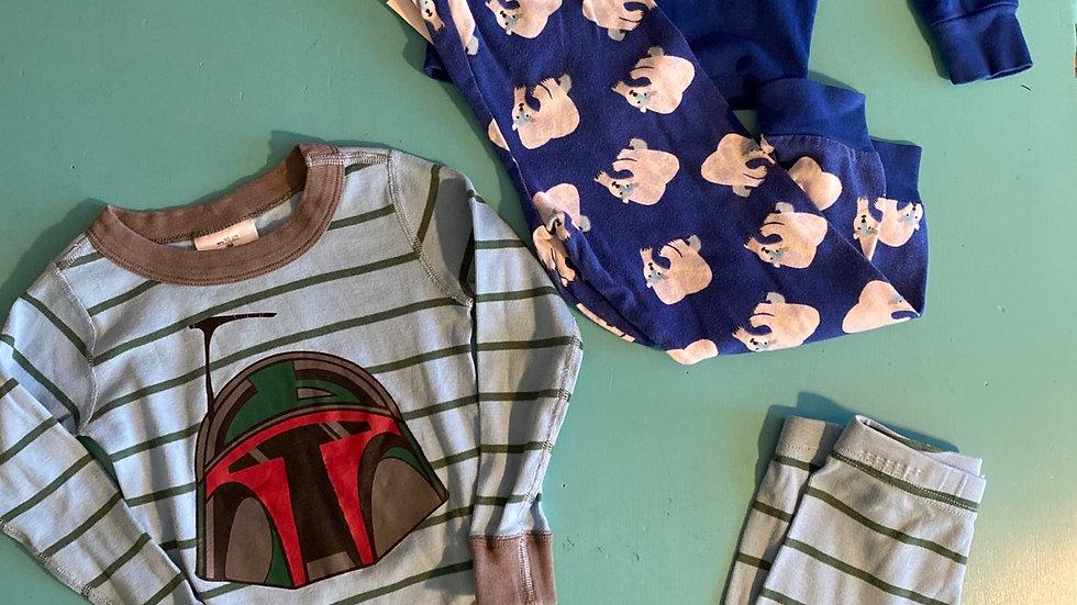 2 Pajama Sets, 3T (Hanna Andersson, Eric Carle)