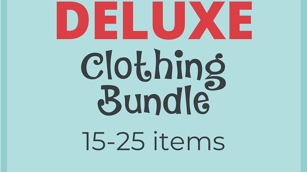 Deluxe Clothing Bundle