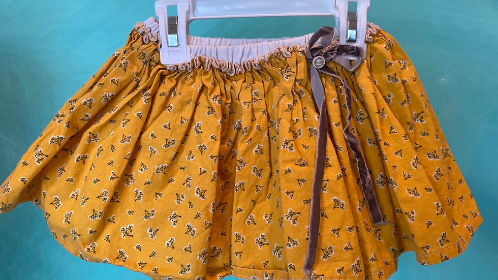 Size 3T Magpie & Mabel Skirt